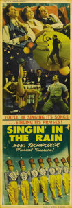 """Movie Posters:Musical, Singin' in the Rain (MGM, 1952). Door Panel (20"""" X 60""""). The great master of cinema dance, Gene Kelly, along with Stanley Do..."""