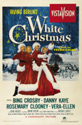 "Movie Posters:Musical, White Christmas (Paramount, 1954). One Sheet (27"" X 41""). The firstfilm produced in VistaVision was this remake of the succ..."
