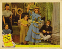 """Meet Me in St. Louis (MGM, 1944). Lobby Card (11"""" X 14""""). Vaudeville never had it this good. Judy Garland and..."""