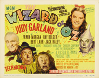 """The Wizard of Oz (MGM, R-1949). Title Lobby Card (11"""" X 14""""). One of the most beloved films of all time was, a..."""