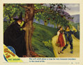 "Movie Posters:Musical, The Wizard of Oz (MGM, R-1949). Lobby Card (11"" X 14""). Margaret Hamilton was cast as the Wicked Witch of the West only afte..."