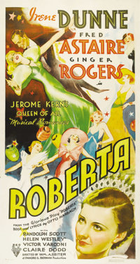 """Roberta (RKO, 1935). Three Sheet (41"""" X 81""""). Posters of any size from pre-1935 musicals have always been extr..."""