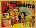 """Movie Posters:Musical, The Great Ziegfeld (MGM, 1936). Title Lobby Card (11"""" X 14""""). This was MGM's star studded biopic of flamboyant impresario Fl..."""