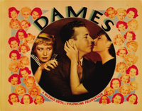 """Dames (Warner Brothers, 1934). Lobby Card (11"""" X 14""""). Dick Powell, Joan Blondell and Ruby Keeler headline a c..."""