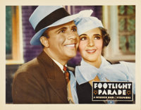 """Footlight Parade (Warner Brothers, 1933). Lobby Card (11"""" X 14""""). As portrait lobby cards go, they don't get m..."""