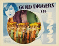 "Movie Posters:Musical, Gold Diggers of 1933 (Warner Brothers, 1933). Lobby Card (11"" X14""). This is a great wide shot scene from the very famous B..."