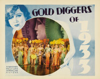 """Gold Diggers of 1933 (Warner Brothers, 1933). Lobby Card (11"""" X 14""""). This is a great wide shot scene from the..."""