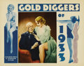 "Movie Posters:Musical, Gold Diggers of 1933 (Warner Brothers, 1933). Lobby Card (11"" X14""). Mervyn LeRoy directed this touching depression-era mus..."