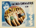 "Movie Posters:Musical, Gold Diggers of 1933 (Warner Brothers, 1933). Lobby Card (11"" X14""). This great card is from one of the Busby Berkeley high..."