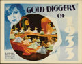 "Movie Posters:Musical, Gold Diggers of 1933 (Warner Brothers, 1933). Lobby Cards (2) (11""X 14""). Busby Berkeley was at his peak in this depression...(Total: 2 Items)"