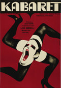 """Movie Posters:Musical, Cabaret (United Artists, 1972). Polish Poster (23"""" X 33""""). BobFosse directs this Oscar-winning adaptation of the famous war..."""