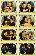 """Movie Posters:Drama, The Witching Hour (Paramount, 1934). Lobby Card Set of 8 (11"""" X14""""). Sir Guy Standing and John Halliday team up to defend T...(Total: 8 Items)"""