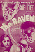 Movie Posters:Horror, The Raven (Universal, 1935). Pressbook (Multiple Pages). BorisKarloff and Bela Lugosi combine their talents for the macabre...