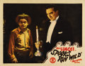 """Movie Posters:Horror, Spooks Run Wild (Monogram, 1941). Lobby Card (11"""" X 14""""). This was the first of two Monogram spook comedies that featured th..."""
