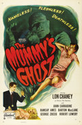 """Movie Posters:Horror, The Mummy's Ghost (Realart, R-1953). One Sheet (27"""" X 41""""). TheMummy comes to America in search of his very long-lost love,..."""