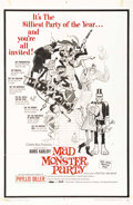 "Movie Posters:Animated, Mad Monster Party (Embassy Pictures, 1968). One Sheet (27"" X 41"").This very rare one sheet has Frank Frazetta artwork of se..."