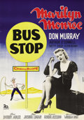 "Movie Posters:Drama, Bus Stop (20th Century Fox, 1956). Swedish One Sheet (27.5"" X39.5""). Directed by Joshua Logan. Starring Marilyn Monroe and ..."