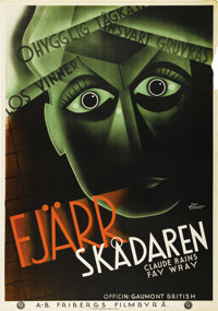 """The Clairvoyant (Gaumont British, 1935). Swedish One Sheet (27.5"""" X 39.5""""). Directed by Maurice Elvey. Starrin..."""