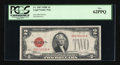 Small Size:Legal Tender Notes, Fr. 1507 $2 1928F Legal Tender Note. PCGS New 62PPQ.. . ...