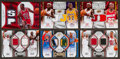 Basketball Cards:Lots, 2007 & 2009 Jordan, James, M. Johnson Plus Others Jersey SwatchCard Group (6). ...