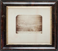 """Photography:Official Photos, Civil War Period Albumen View of the """"Camp of the 22nd Penna. Vol. Cav. New Creek West Va. 1865"""" ..."""