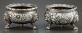 Silver Holloware, American:Open Salts, A PAIR OF S. KIRK & SONS SILVER OPEN SALTS . S. Kirk & SonCo., Baltimore, Maryland, circa 1900. Marks: S. KIRK & SONCO.,... (Total: 2 )