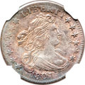 Early Dimes, 1807 10C MS61 NGC. JR-1, R.2....