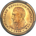 Commemorative Gold, 1904 G$1 Lewis and Clark MS67 PCGS....