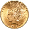 Indian Eagles, 1911 $10 MS65 PCGS....