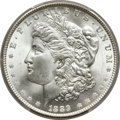 Morgan Dollars, 1889 $1 MS66+ PCGS. CAC....