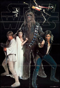 "Movie Posters:Science Fiction, Star Wars (Scandecor, 1977). Swedish Commercial Poster (26.5"" X38.75""). Science Fiction.. ..."