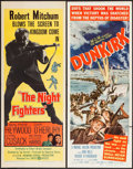 "Movie Posters:War, The Night Fighters & Other Lot (United Artists, 1960). Inserts(2) (14"" X 36""). War.. ... (Total: 2 Items)"