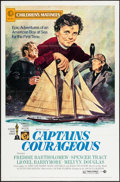 "Movie Posters:Adventure, Captains Courageous (MGM, R-1973). One Sheet (27"" X 41"") Children'sMatinee Style. Adventure.. ..."