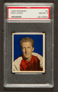 Basketball Cards:Singles (Pre-1970), 1948 Bowman Fred Lewis #4 PSA NM-MT 8....