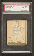 "Basketball Cards:Singles (Pre-1970), 1948 Bowman ""Screen Play"" #35 PSA NM-MT 8...."