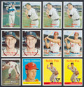 Baseball Cards:Lots, 1956 - 1958 Topps Baseball Collection (124). ...