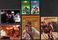 "Movie Posters:Adventure, Indiana Jones Lot (Various, 1981). Hard Cover Book (Multiple Pages,8.5"" X 11.5""), Soft Cover Books (3) (Multiple Pages, 4.2... (Total:6 Items)"