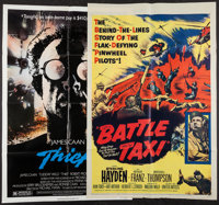 "Battle Taxi & Others Lot (United Artists, 1955). One Sheets (31) (27"" X 41""), Lobby Cards (425) (approx. 1..."