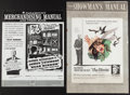 """Movie Posters:Hitchcock, The Birds and Other Lot (Universal, 1963). Uncut Pressbooks (2)(Multiple Pages) (12.25"""" X 15"""" and 12.25"""" X 18""""). Hitchcock....(Total: 2 Items)"""