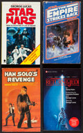 "Movie Posters:Science Fiction, The Star Wars Trilogy & Others Lot (Various, 1970s-1980s). Soft Cover Books (8) (4"" X 7""). Science Fiction.. ... (Total: 8 Items)"