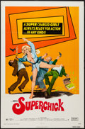 "Movie Posters:Bad Girl, Superchick (Crown International, 1973). One Sheet (27"" X 41""). BadGirl.. ..."