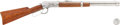 Long Guns:Lever Action, Miniature Winchester Model 1892 Saddle Ring Carbine....