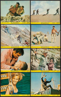 "Movie Posters:Adventure, A Twist of Sand & Others Lots (United Artists, 1968). MiniLobby Card Set of 8 (3) (8"" X 10""). Adventure.. ... (Total: 24Items)"