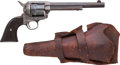 Handguns:Single Action Revolver, Colt Single Action Army Revolver with Holster....