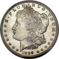 Morgan Dollars, 1889-CC $1 AU58 PCGS....