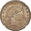Barber Half Dollars: , 1912 50C MS63 NGC. NGC Census: (71/88). PCGS Population (91/107).Mintage: 1,550,700. Numismedia Wsl. Price for problem fre...