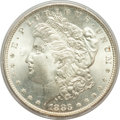 Morgan Dollars: , 1883 $1 MS66 PCGS. CAC. PCGS Population (835/88). NGC Census:(805/124). Mintage: 12,291,039. Numismedia Wsl. Price for pro...