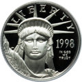 Modern Bullion Coins: , 1998-W P$10 Tenth-Ounce Platinum Eagle PR70 Deep Cameo PCGS. PCGSPopulation (74). NGC Census: (453). Mintage: 19,919. Numi...
