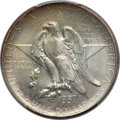Commemorative Silver: , 1937-S 50C Texas MS67 PCGS. CAC. PCGS Population (83/0). NGCCensus: (95/5). Mintage: 6,637. Numismedia Wsl. Price for prob...