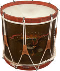 Military & Patriotic:Civil War, 11 Star Eagle Motif U.S. Pre-Civil War or Civil War Drum....